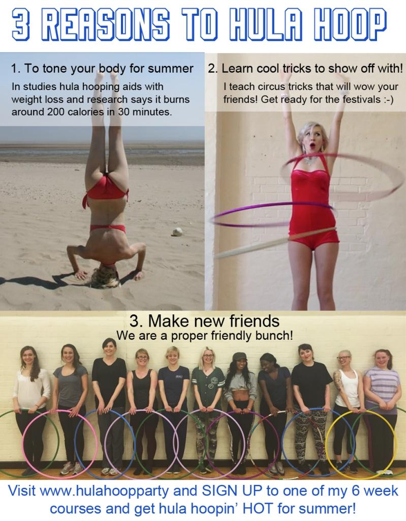 reasons to hoop